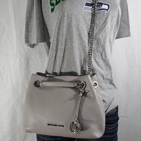 8ece842f9781 Michael Kors Jet Set Silver Chain Pearl Grey  228